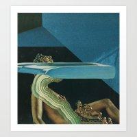 Glitch Art Print