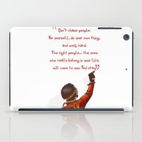 Positive Attitude iPad Case