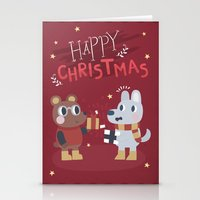 Happy Christmas Greeting… Stationery Cards