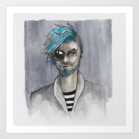 Bearded Art Print