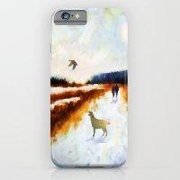 LANDSCAPE - Broadland walk iPhone 6 Slim Case