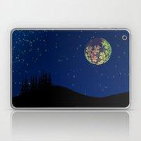 Fractal Moon Laptop & iPad Skin