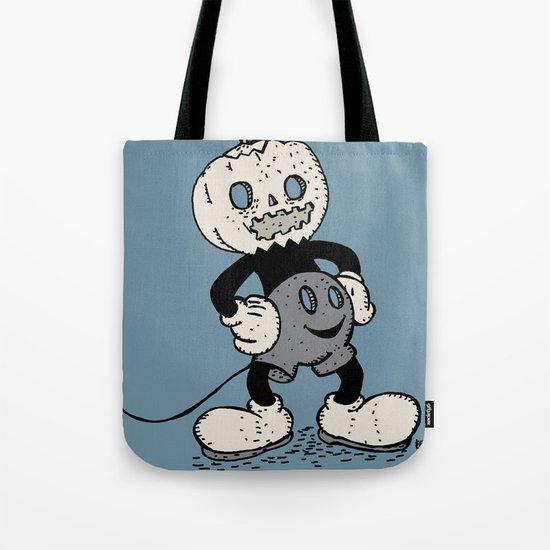 Mickey Pumpkin (desaturated) Tote Bag