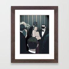 THE CENTERPIECE Framed Art Print