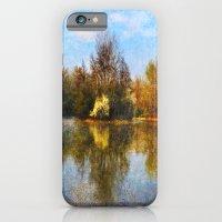 Autumn Lake iPhone 6 Slim Case
