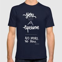 You Got A Lifetime Mens Fitted Tee Navy SMALL