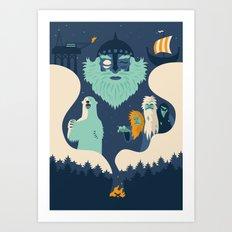 Maelstrom Art Print