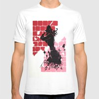 Woman Warrior Mens Fitted Tee White SMALL
