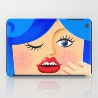 Lola Blue iPad Case