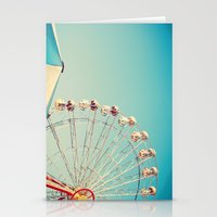 I Don't Want Love, Ferris Wheel on Blue Sky Stationery Cards