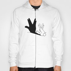 Rabbit Trek Hand Shadow Hoody