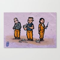 Use Verb on Noun #3: The Dig Canvas Print