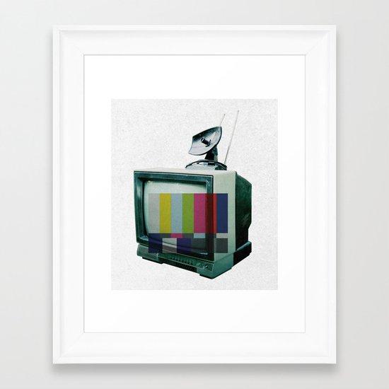 Tune In... Framed Art Print