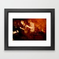 Two Time'n' Framed Art Print