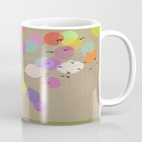 Girl With Balloons Mug