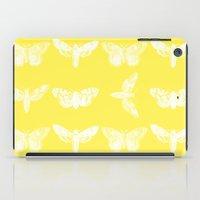 Yellow Moth's; iPad Case