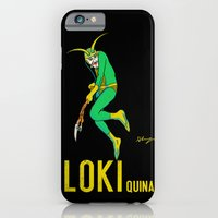 iPhone & iPod Case featuring Loki Quina by Hillary White