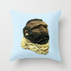 Mr. Tee Throw Pillow