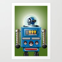 Tin Man No. 3 Art Print