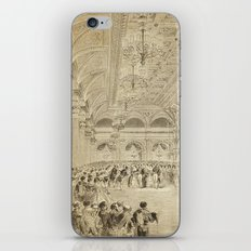 Grand Ball Hotel De Ville Paris iPhone & iPod Skin