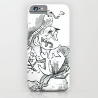 iPhone & iPod Case featuring Forest Spirits by Monika Jean