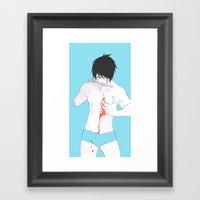 What is Left of Me Framed Art Print