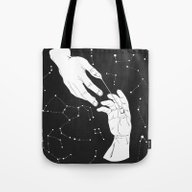 Open The Gates To Heaven Tote Bag
