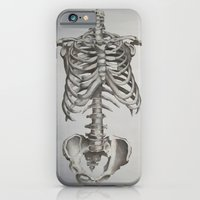 skeleton iPhone & iPod Cases featuring Skeleton by Trisha Thompson Adams