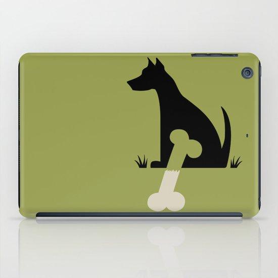 Gave a Dog a Bone (Green) iPad Case
