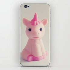 Pink Unicorn Sees You iPhone & iPod Skin