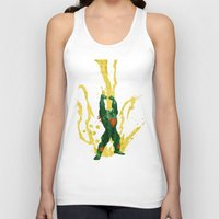 Call Me, Jimmy (Homage to Blanka from Street Fighter) Unisex Tank Top