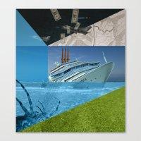 Atmosphere 27 · Disaste… Canvas Print