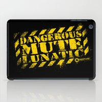Dangerous Mute Lunatic iPad Case