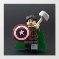 Loki, God of Mischief Canvas Print