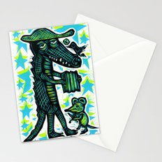 Cajun Gator Stationery Cards