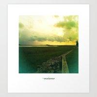 océano 7 Art Print