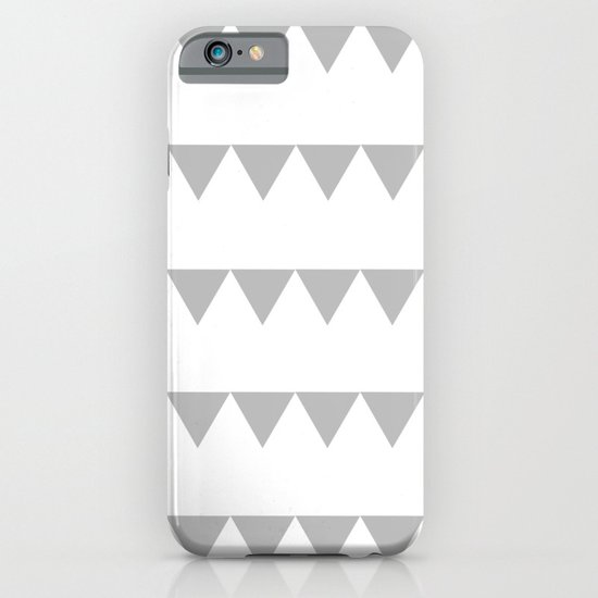 TRIANGLE BANNERS (Gray) iPhone & iPod Case