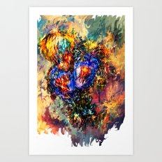 Genos Art Print