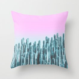 Throw Pillow - Cacti - fly fly away
