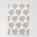 Hearts Heart Multiple Stationery Cards