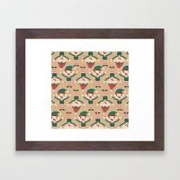 Day 18/25 Advent - Santa… Framed Art Print