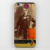 victorian gentleman  iPhone & iPod Skin