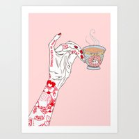 Sophisticated As F$&K  Art Print