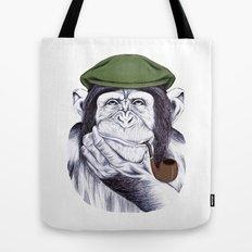 Wise Mr. Chimp Tote Bag