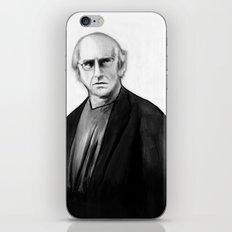 DARK COMEDIANS: Larry David iPhone & iPod Skin