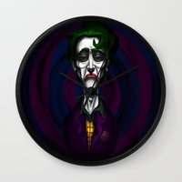 Sad Joker Wall Clock