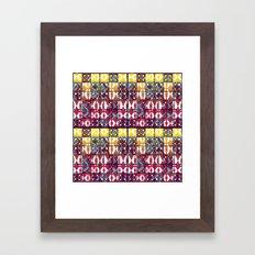 Pattern_2016_01  Framed Art Print