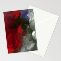 Flower in red Stationery Cards