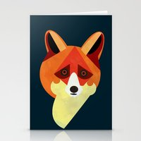 Zorro/Fox Stationery Cards