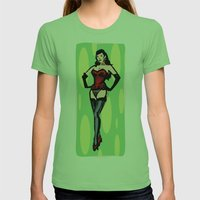 Betty Tall Womens Fitted Tee Grass SMALL